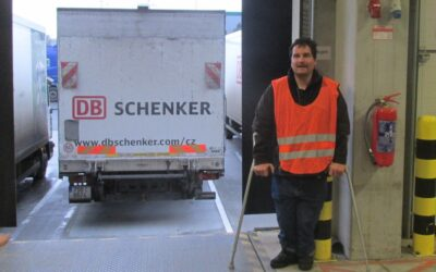 Srdcerváč Pavel ve společnosti DB Schenker