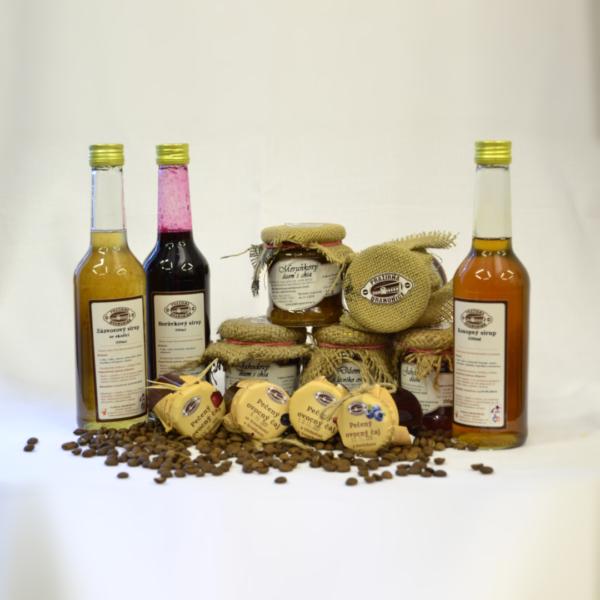 Nevšední dárky - Mix marmelád, pečených čajů a sirupů