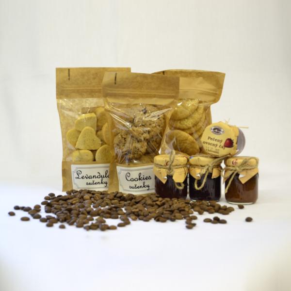 Nevšední dárky - Netradiční sušenky s pečeným čajem