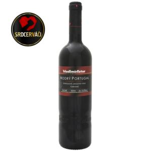 Vinařství Vladimír Tetur - MODRÝ PORTUGAL jakostní 2015, suché (s logem)